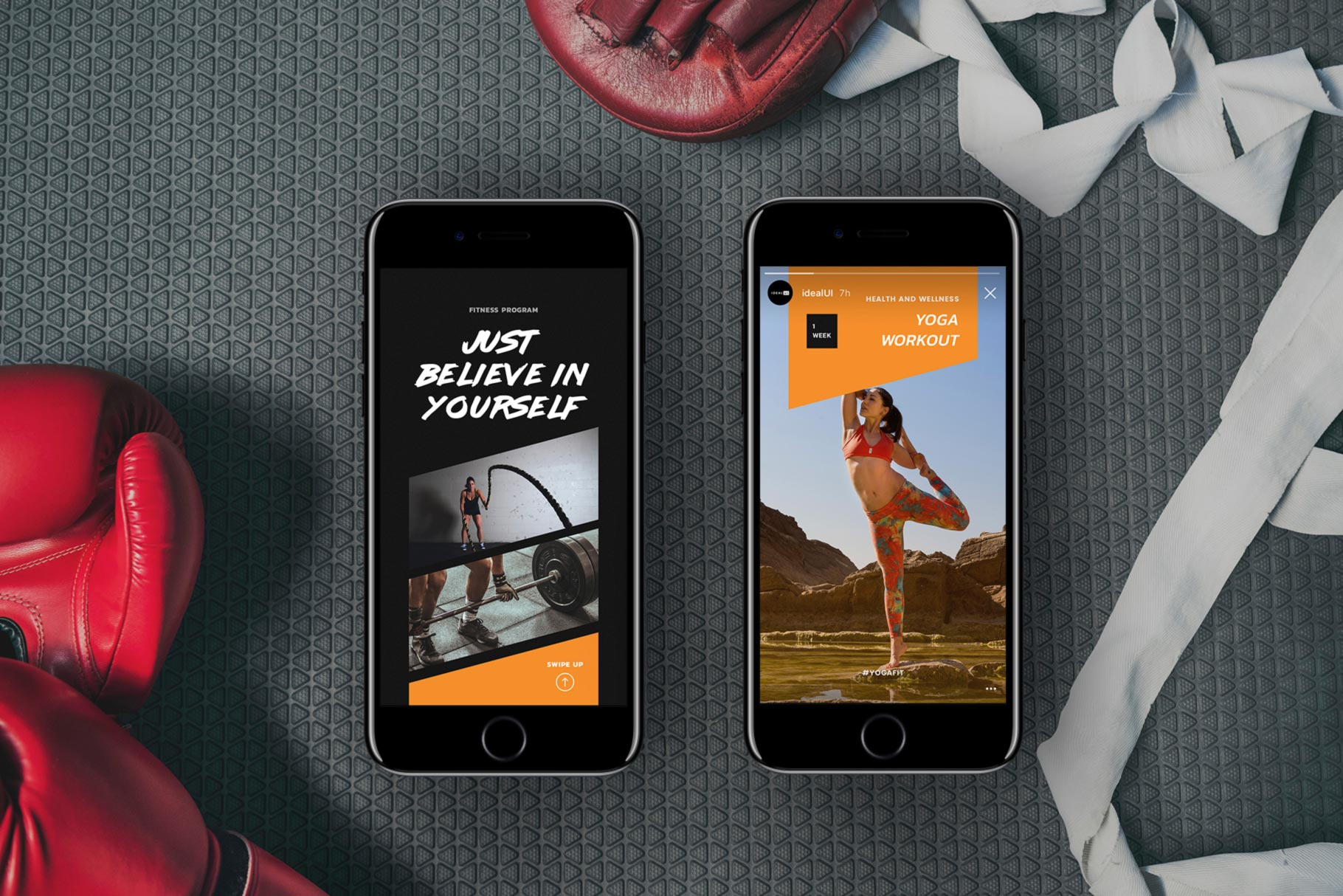 The Stories Template Pack is a creative resource designed for the busy fitness instructor, blogger, influencer, creative or any business owner.